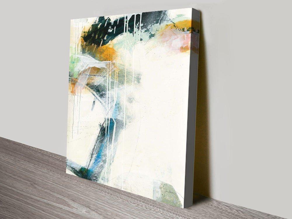 Turbulence ll Cool Abstract Art Print