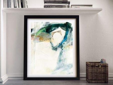 Buy a Framed Canvas Print of Turbulence lll