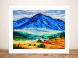 el Nevado de Toluca Chaira Magni Print