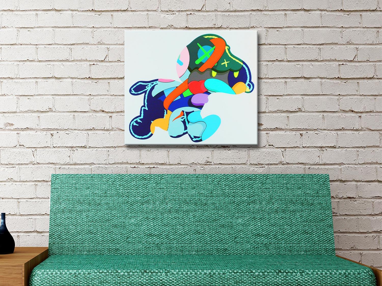 KAWS Stay Steady 2015 Affordable Wall Art