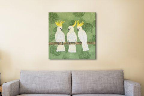 Aussie Cockatoos Lisa Frances Judd Artwork