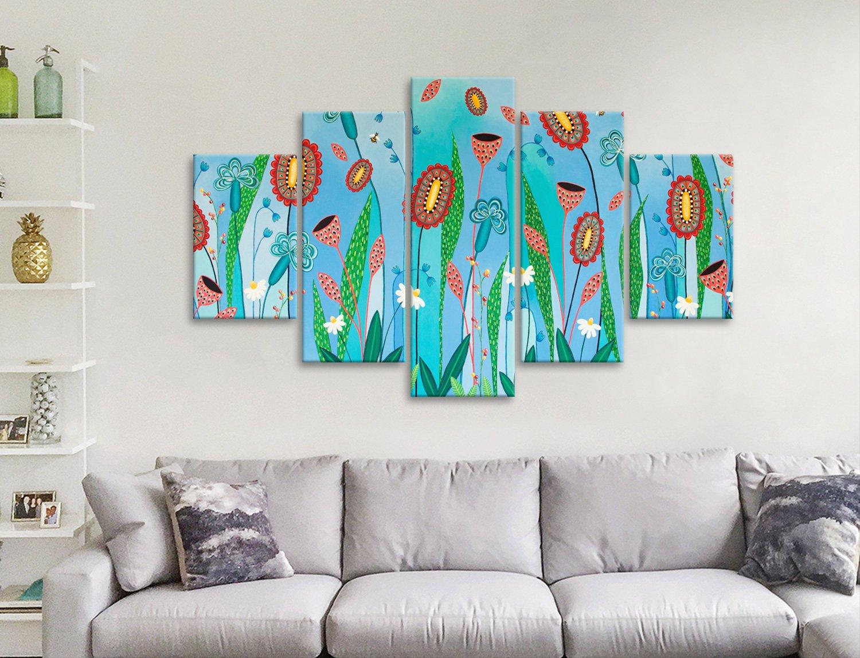 Blooming Abundance Split Panel Wall Art AU