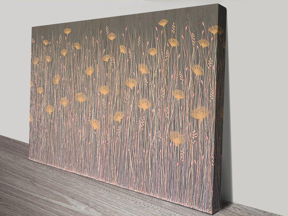 Lisa Frances Judd Abstract Floral Art AU