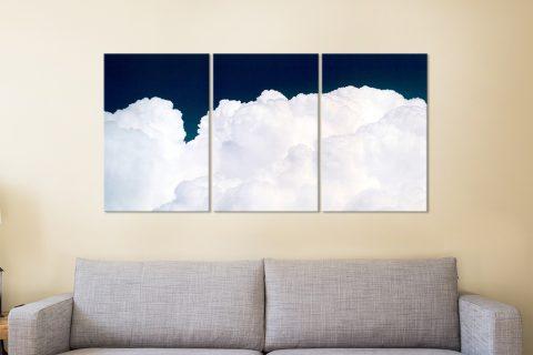 Clouds 3-Panel Print Set Great Gift Ideas AU