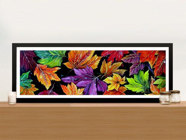 Colours of Autumn Colourful Panoramic Art