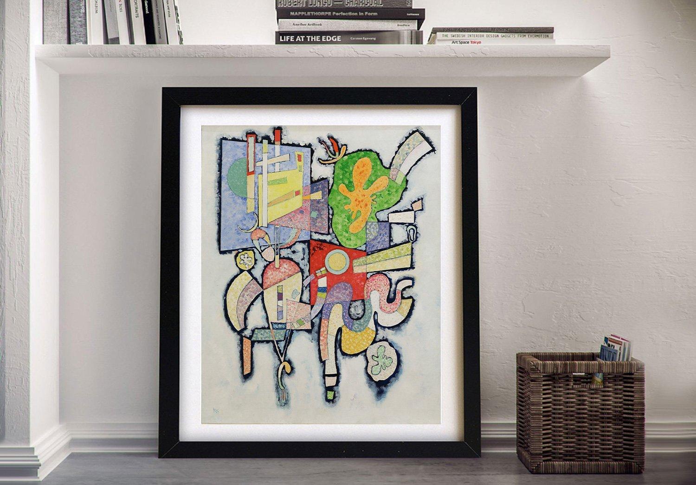 Complexite Simple Kandinsky Canvas Print