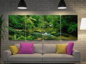 Buy Daintree Rainforest Multi-Panel Wall ArtBuy Daintree Rainforest Multi-Panel Wall Art