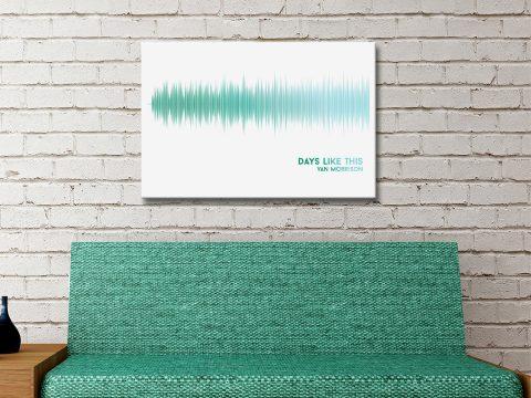 Soundwaves Art Unique Gift Ideas Online