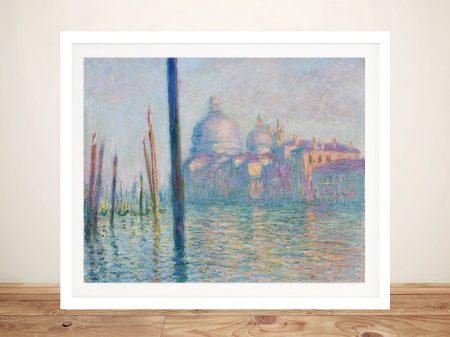 Le Grand Canal Monet Classic Art Print