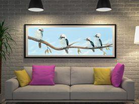 Master Kookaburra Hangout Canvas Art