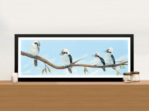 Australian Birds Panoramic Canvas Art