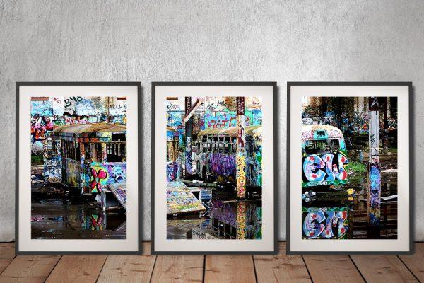 Glebe Tram Depot Graffiti Art Gift Ideas AU