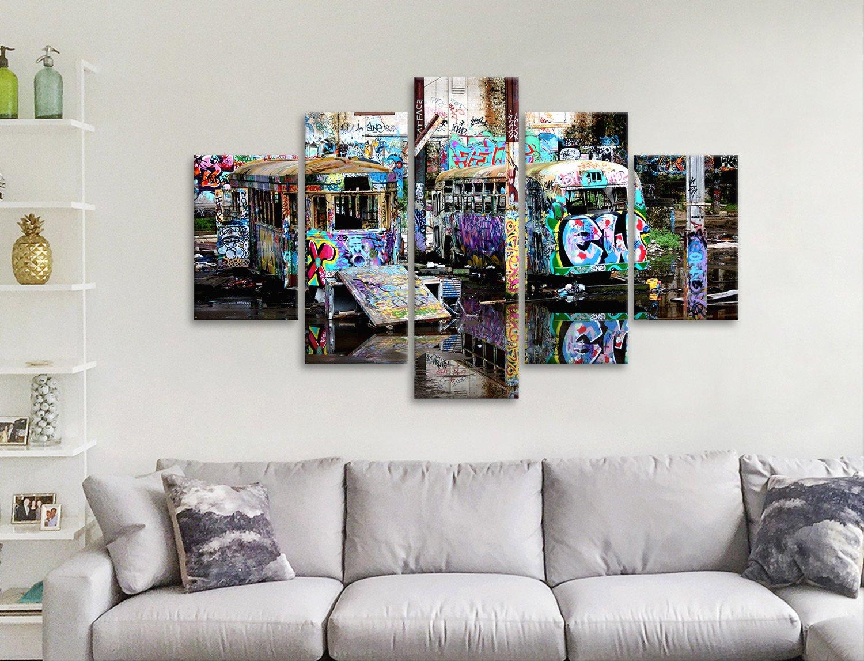 Steve McLaren Tram Split-Panel Wall Art