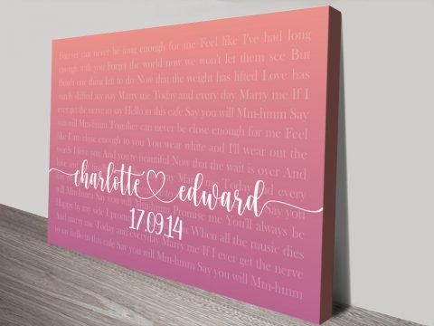 Bespoke Wedding Gift Ideas Cheap Online