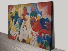 Oriental Abstract Kandinsky Wall ArtOriental Abstract Kandinsky Wall Art
