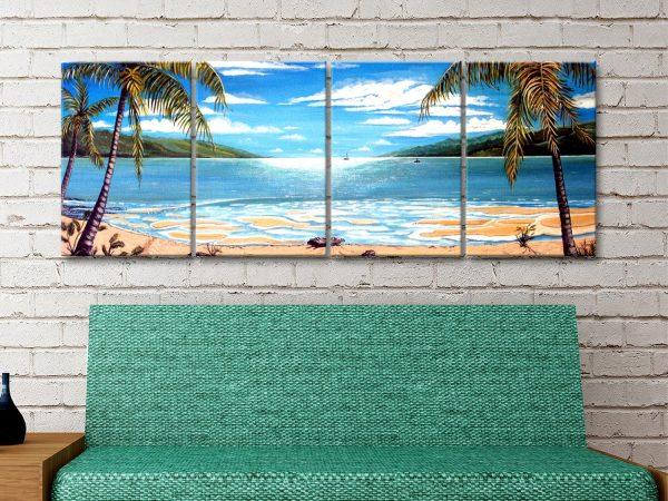 Affordable 4 Piece Coastal Wall Art Online