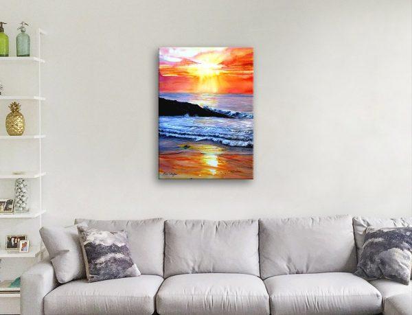 Sunset Canvas Art Affordable Prints Online
