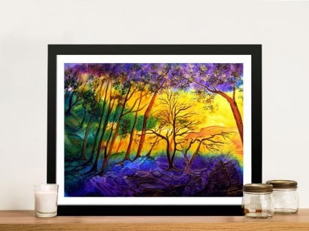 Buy Sunkissed Valley Framed Wall Art