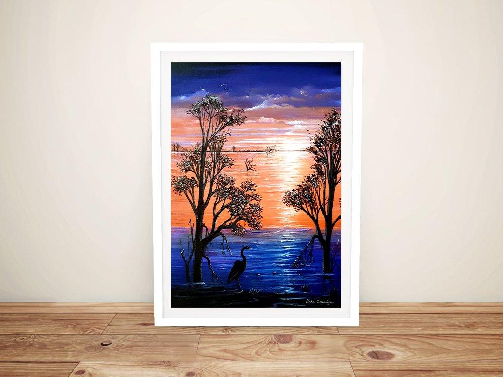 Sunset Blues Framed Art Unique Gifts OnlineSunset Blues Framed Art Unique Gifts Online