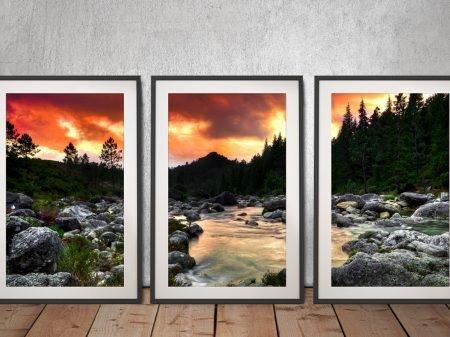 The Peaceful Woods 3-Panel Canvas Art Set