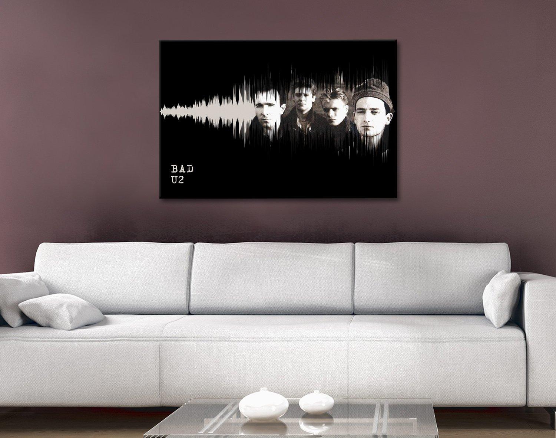Buy Affordable Soundwaves Art for U2