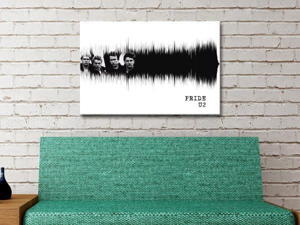 Ready to Hang U2 Pride Soundwaves Art