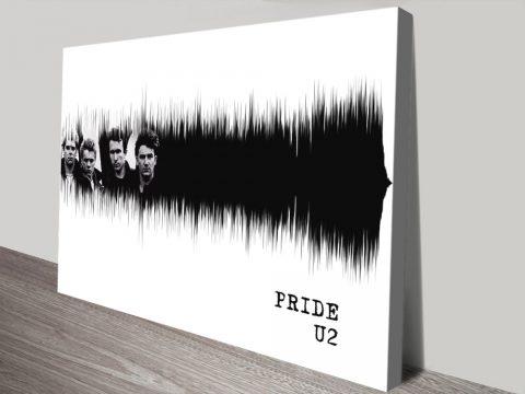 Pride U2 Soundwave Art Great Gift Ideas Online