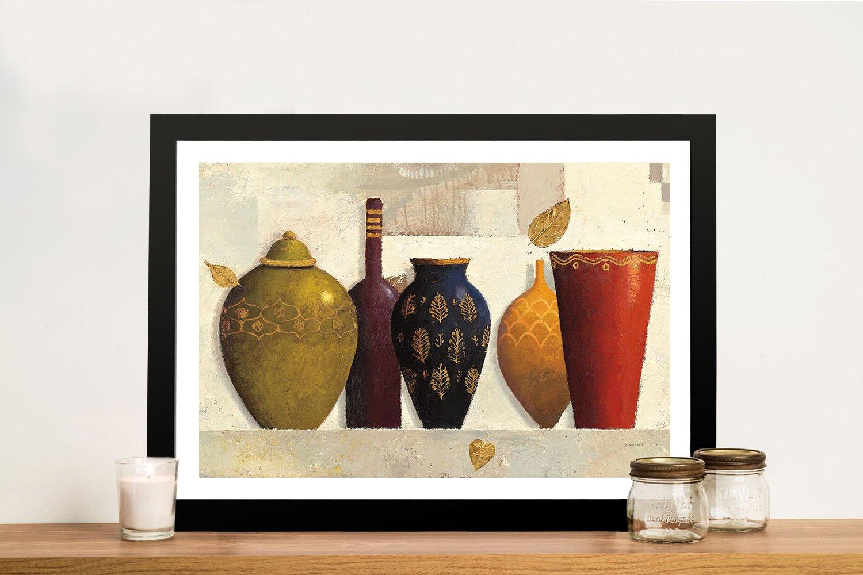 Jewelled Vessels James Wiens Abstract Art