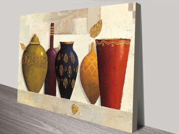 Jeweled Vessels Contemporary Art AU