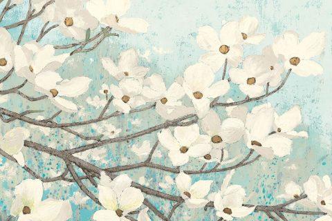 Pretty Floral Wall Art by James Wiens AU