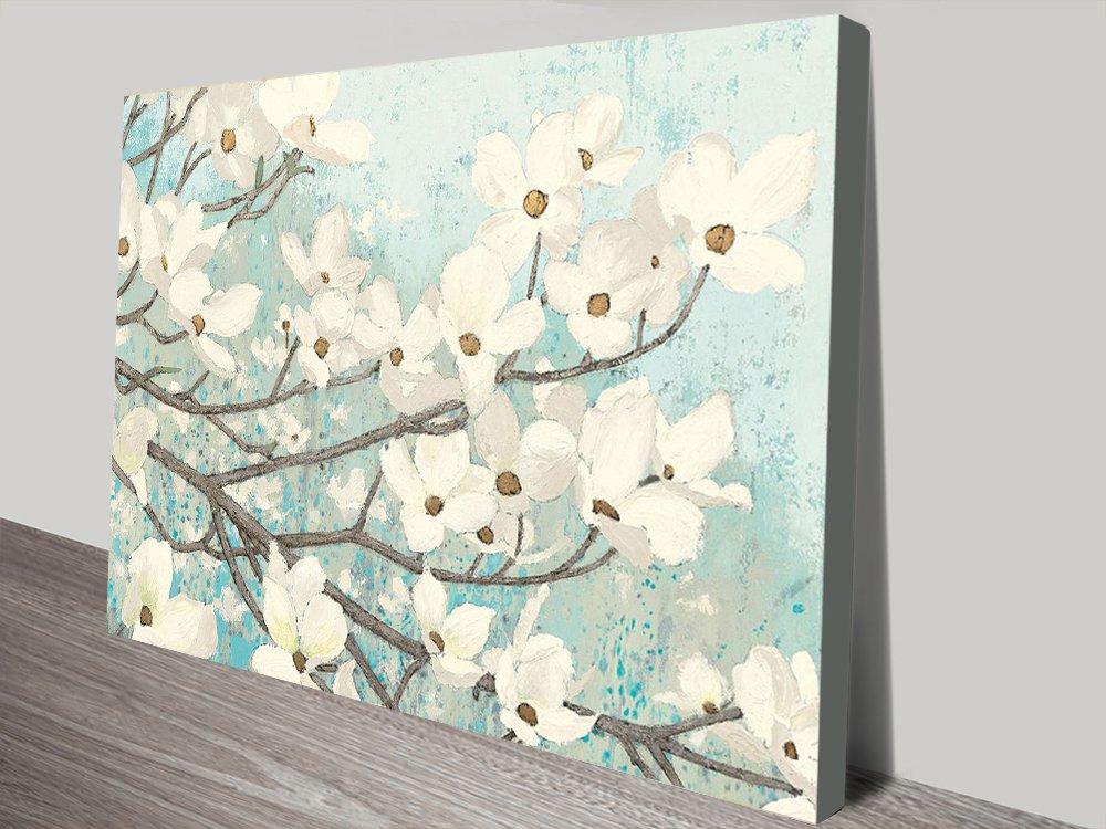 Dogwood Blossoms Floral Art Home Decor
