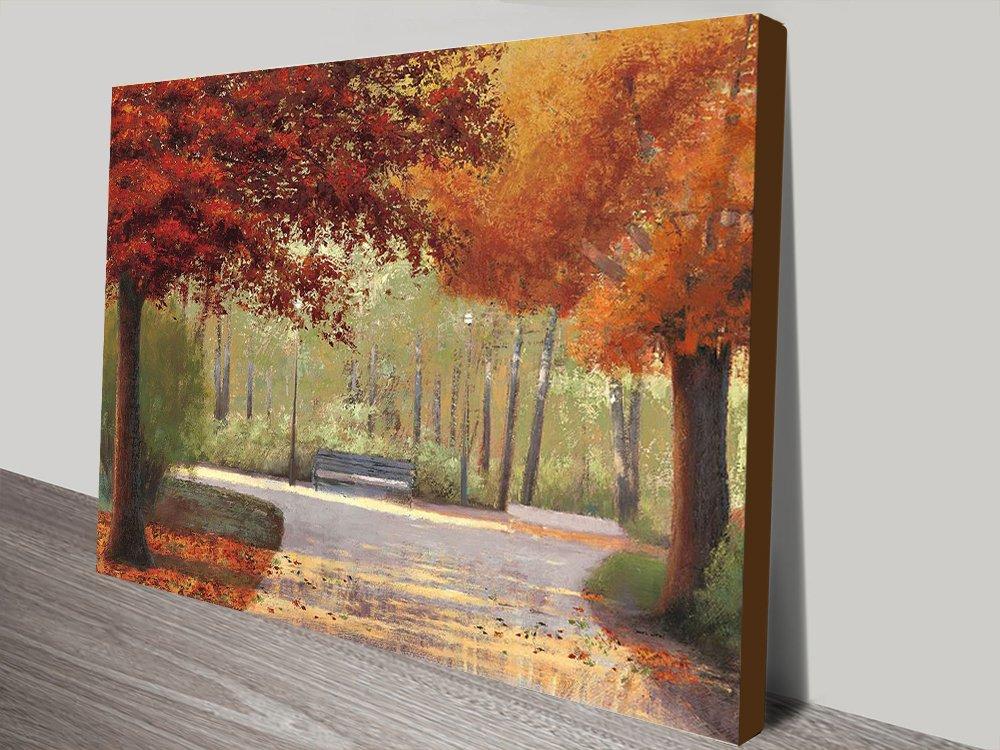Autumn Stroll Art Unique Gift Ideas Online