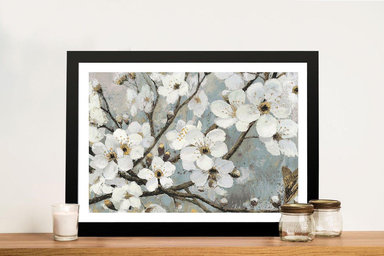 Framed Cherry Blossoms James Wiens Art AU