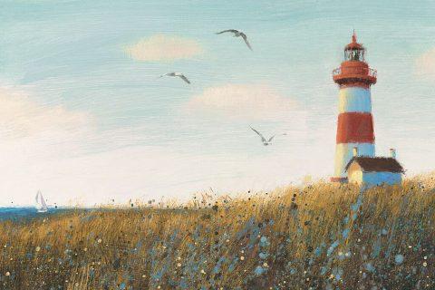 Seaside View Ready to Hang James Wiens Art