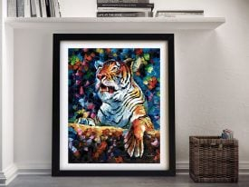 Buy an Angry Tiger Leonid Afremov Print