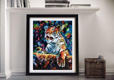 Buy an Angry Tiger Leonid Afremov Print