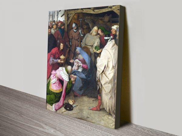 The Adoration of the Kings Ready to Hang Art