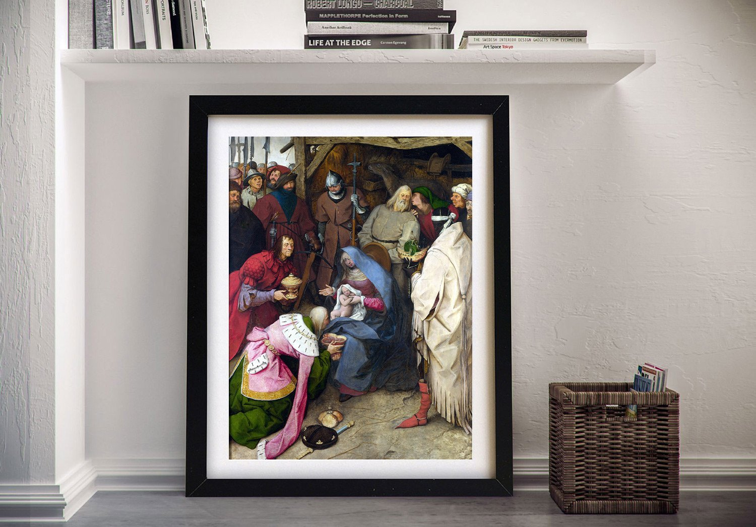 The Adoration of the Kings Classic Wall Art