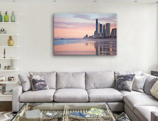 Gold Coast Beach Artwork Ready to Hang