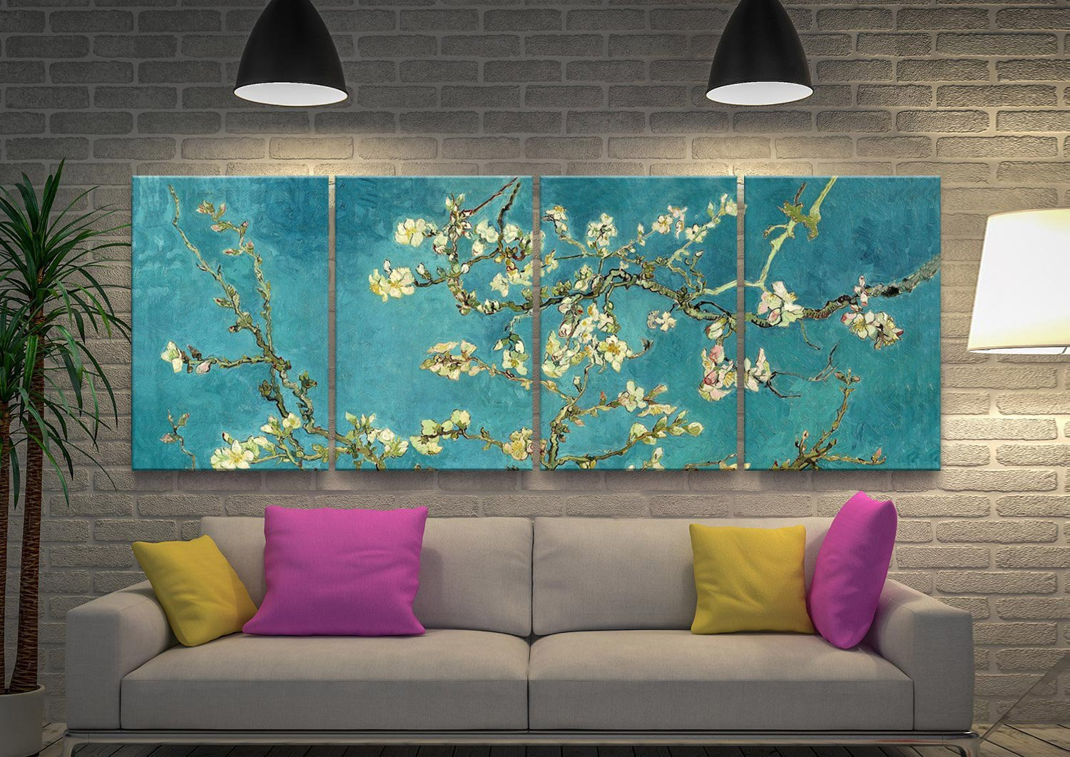 Blossoming Almond 4-Panel Set Great Gifts AU