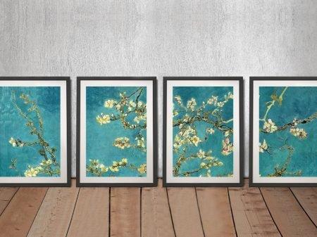 Blossoming Almond 4-Piece Canvas Art Set