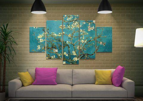 Van Gogh Split Panel Art Quality Canvas Prints