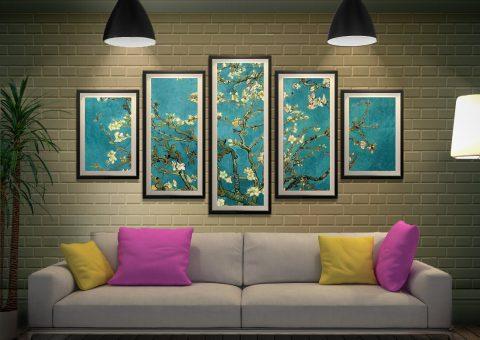Blossoming Almond Tree Cheap Classic Art Prints
