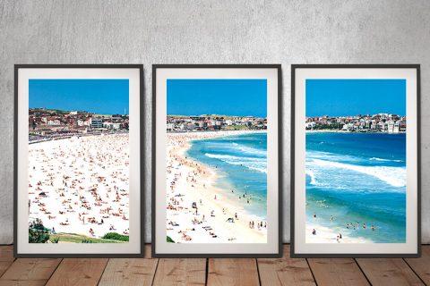 Bondi Framed Peter Lik Triptych Art for Sale