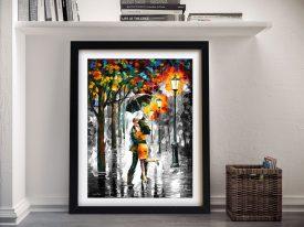 Dance Under the Rain Colour Splash Print