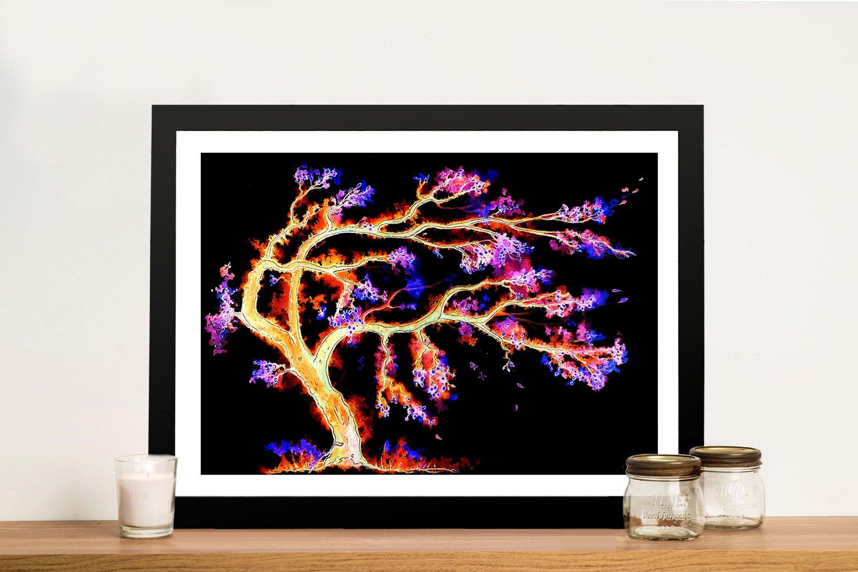 Dream Tree Framed Print Ready to Hang Art AU