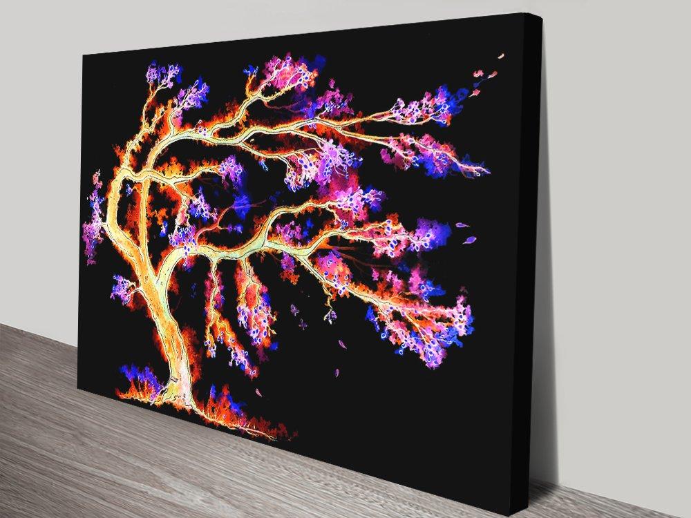 Buy Dream Tree Canvas Art by Linda Callaghan