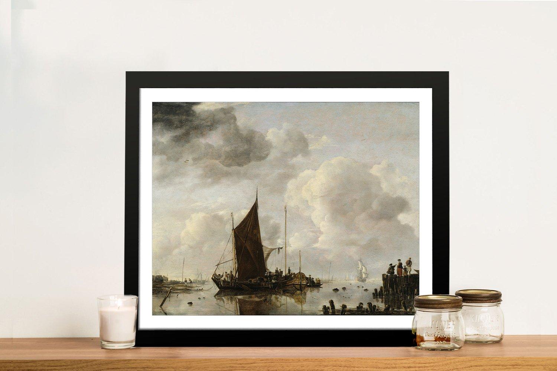 Harbour Scene Nautical Art Great Gifts Online