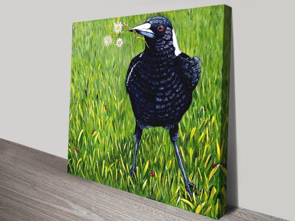 Stretched Canvas Australian Wildlife Art