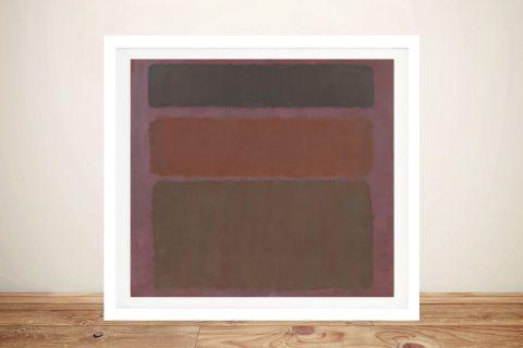 No.16 Mark Rothko Abstract Canvas Print